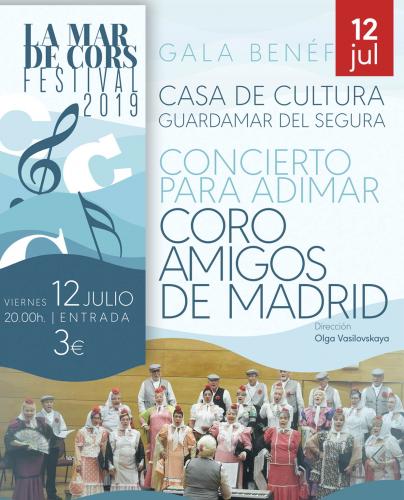 FESTIVAL MAR DE CORS. CORO AMIGOS DE MADRID