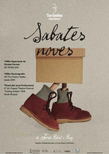SABATES NOVES, Tian Gombau - L´Home Dibuixat