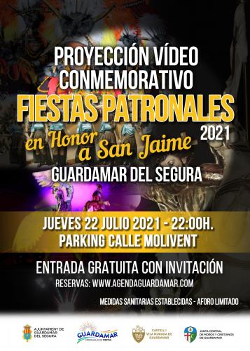PRESENTACIÓN VIDEO FIESTAS PATRONALES EN HONOR A SAN JAIME